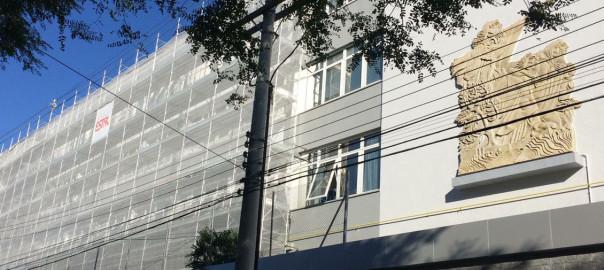 Andaime Fachadeiro Estal em Porto Alegre.